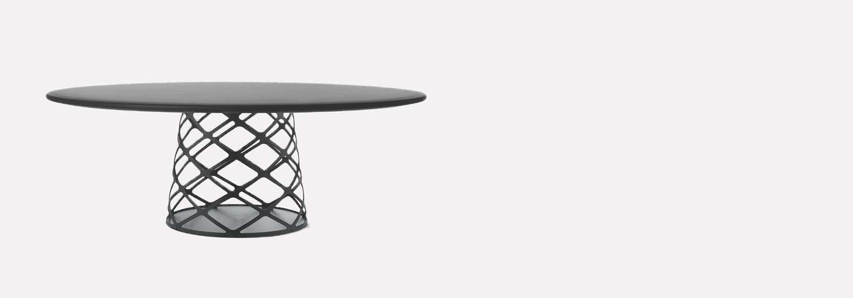 GUBI AOYAMA LOUNGE TABLE NOIR 1370*480 G
