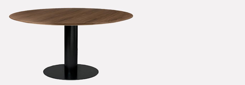 GUBI ROUND TABLE 150CM BOIS 1370*480 G