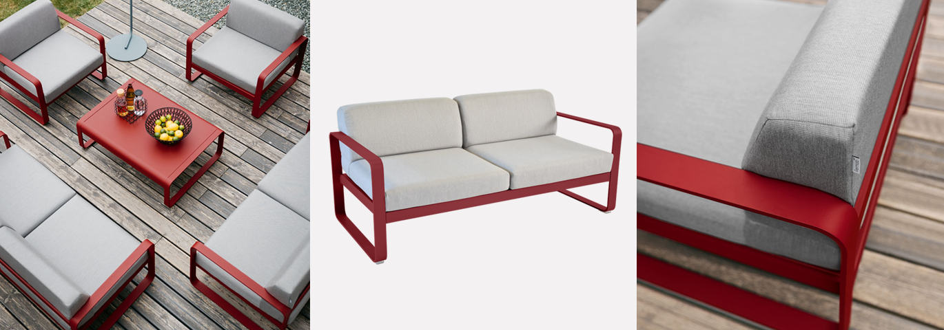 FERMOB CANAPE BELLEVIE 1370*480 AMBIANCE 23883
